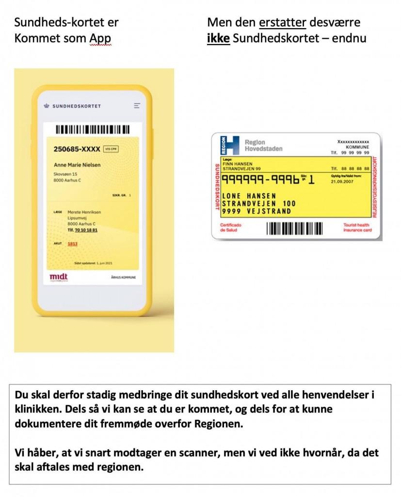 sundhedskort
